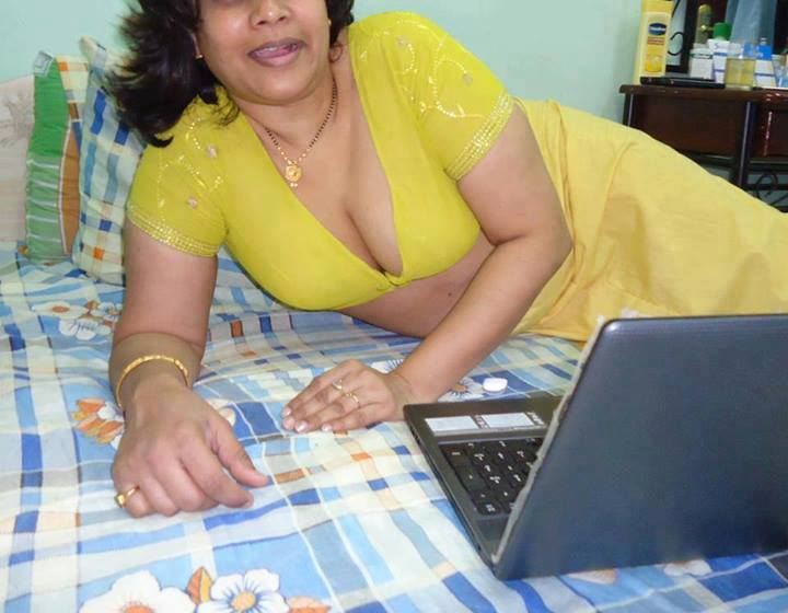 Nude indian fat aunty — img 6