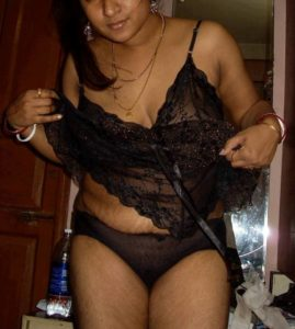 Sexy girls cleavage in nightwear image
