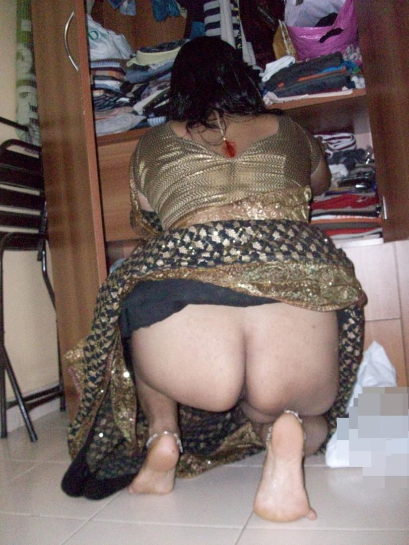 aunty black butt