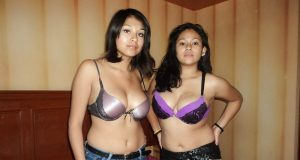Indian lesbian girls bra panty sex