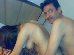 Aunty Stripping Nighty