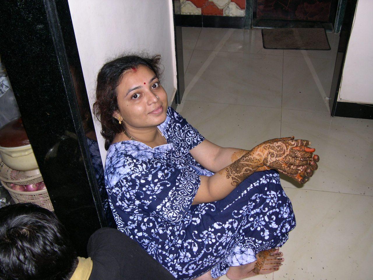Indian Desi Girl Removing Hike Nighty For Honeymoon-3199