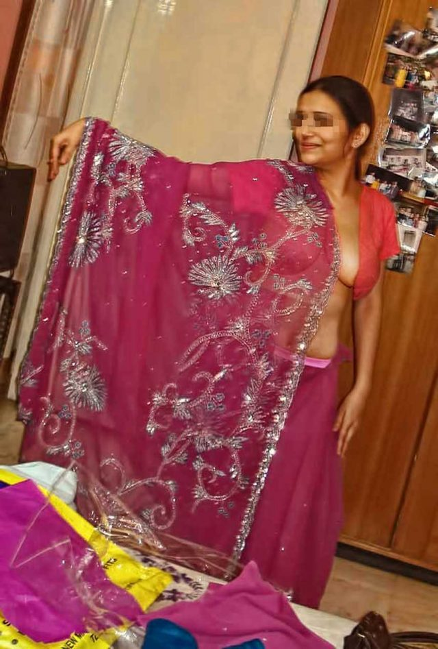 Indian Wife Stripping