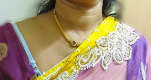 Bhabhi bra visible