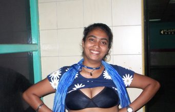 Bihari housewife removing bra
