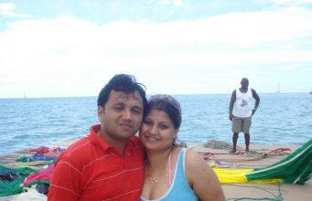 Newly married bhabhi Honeymoon real pic