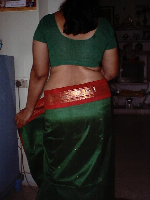Desi Bhabhi Saree Removing Step