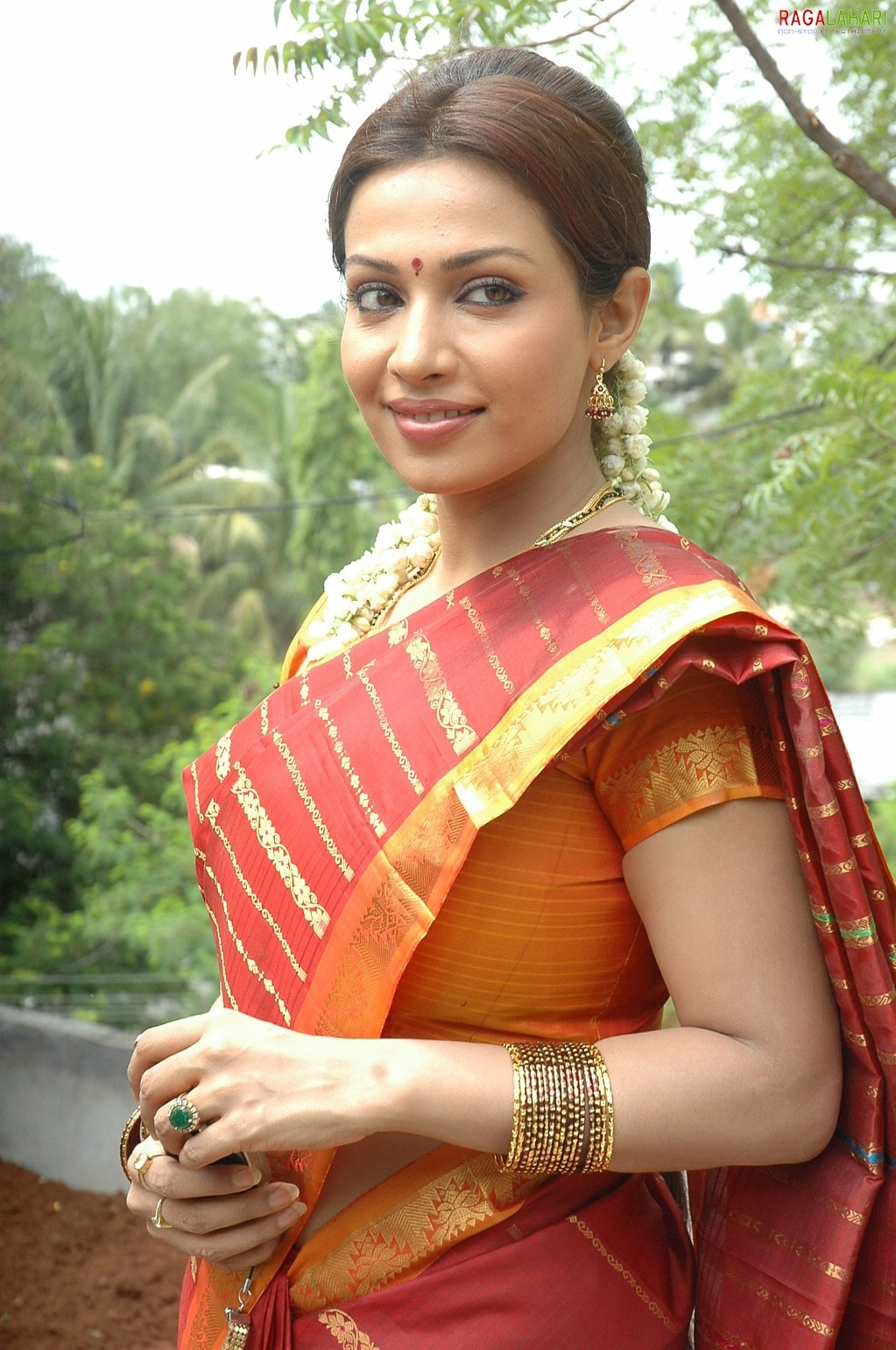 South indian actress hot in saree remarkable, very
