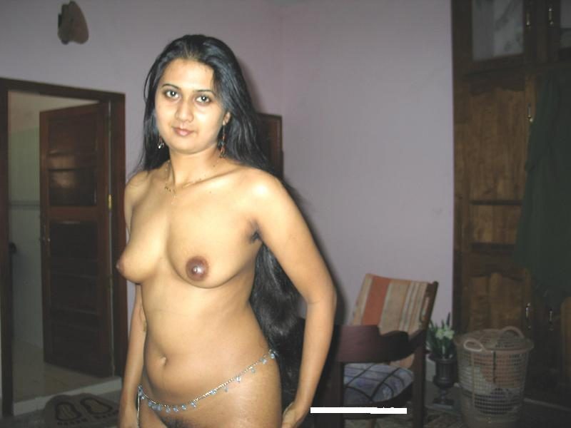 young nude woman self