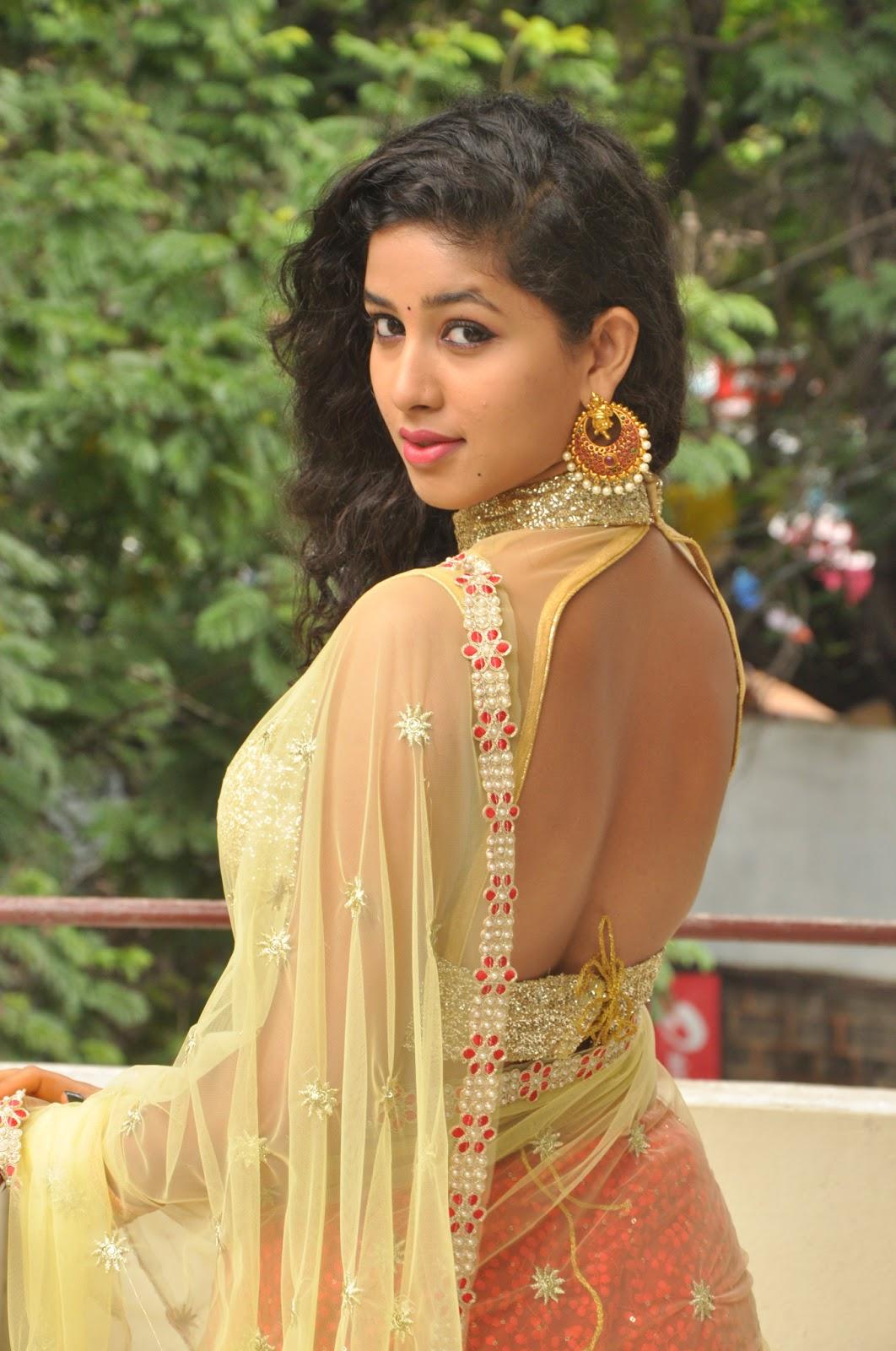 Desi Gaand In Saree  Hot Girl Hd Wallpaper-4242