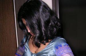 College girl sexy saree remove