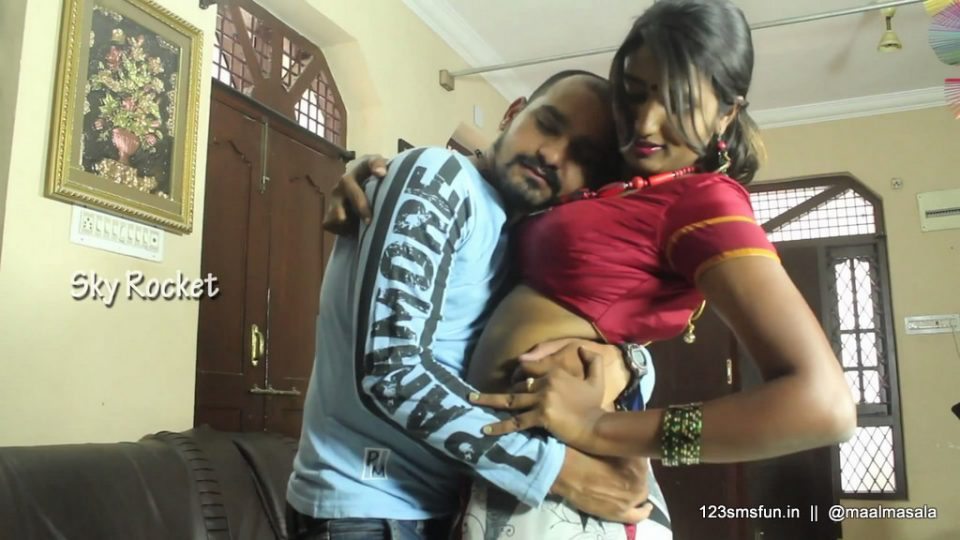 Girls lifting saree