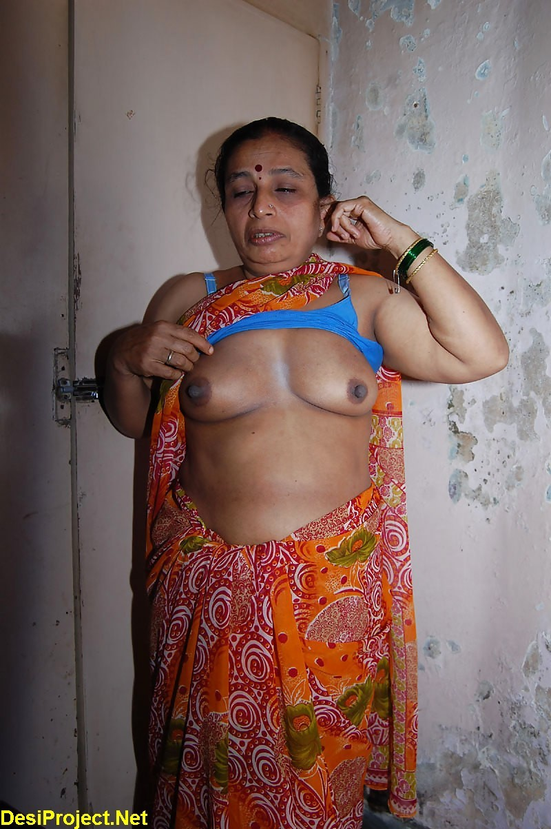 Real life aunties saree sex