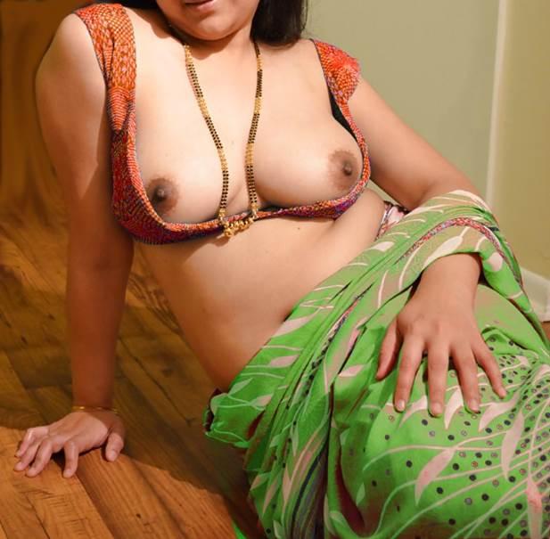 THE 6:57 indian girl stripping saree splendid