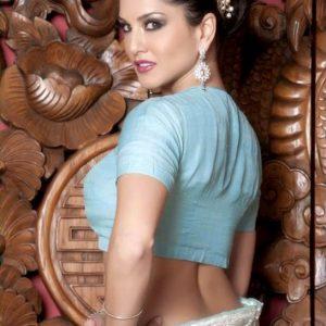 Sunny Leone saree saree