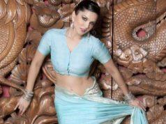 Sunny Leone saree