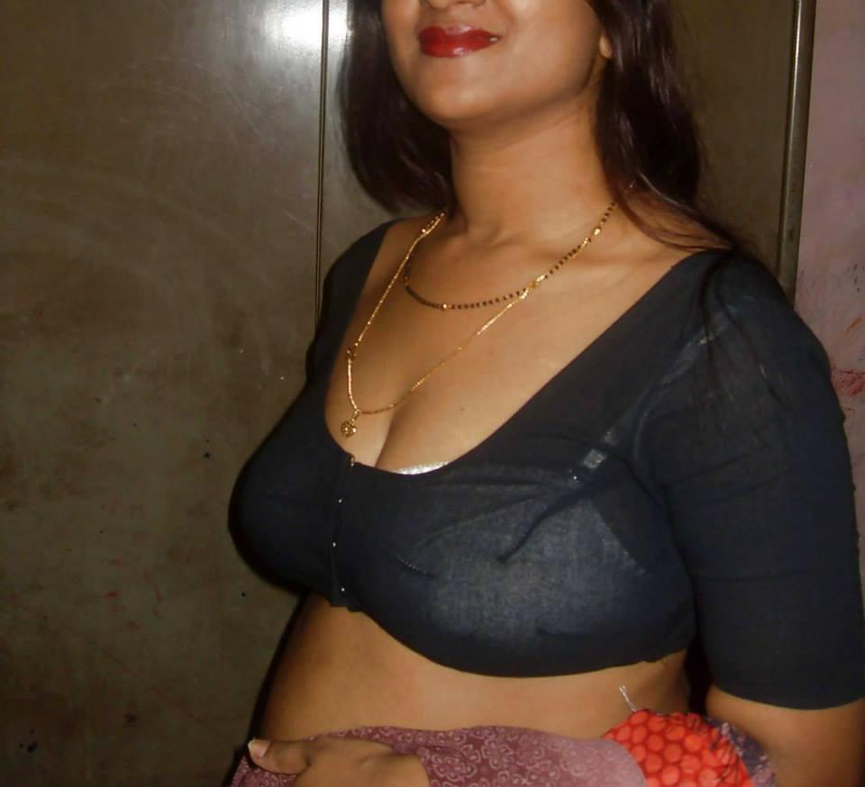 Mallu Aunty Saree Striping Photos  Big Boobs Mallu -2683