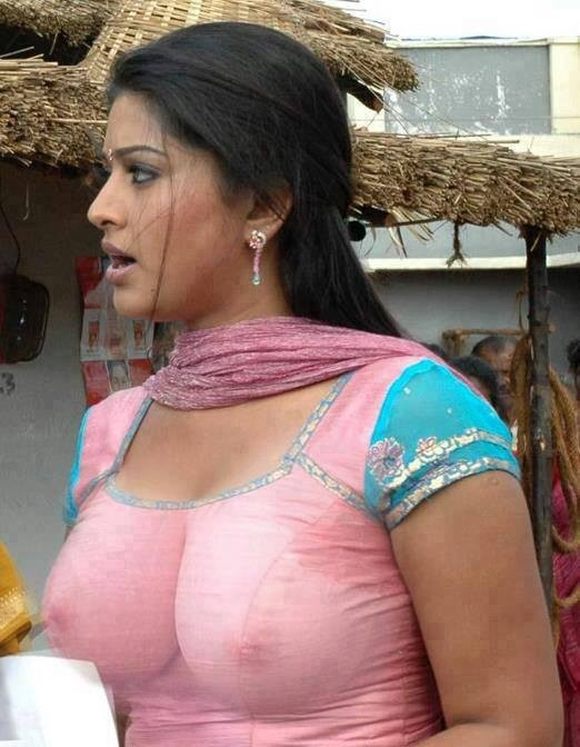 Boobs indian aunty images swallow