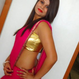 bra saree moty sexy aunty photo