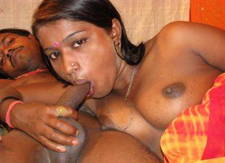 bhabhi holding penis