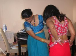 Indian bhabhi saree pic