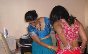 Indian bhabhi saree pic