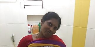 Hot sexy aunty nude in saree